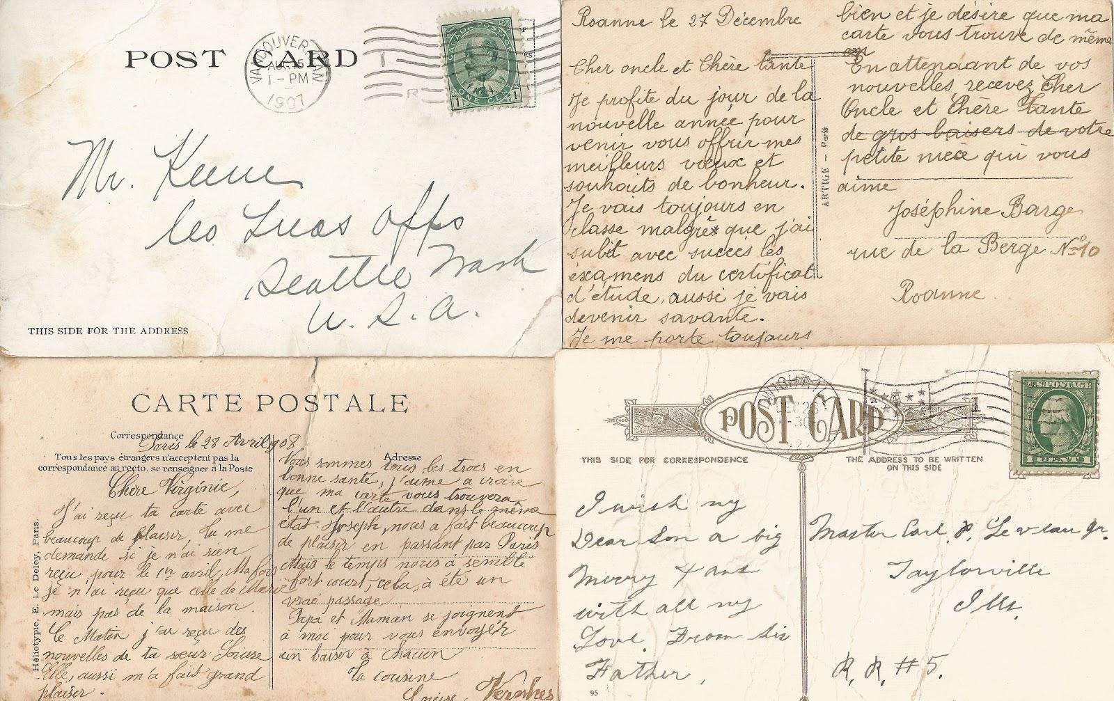 8 Images of Printable Vintage Postcards