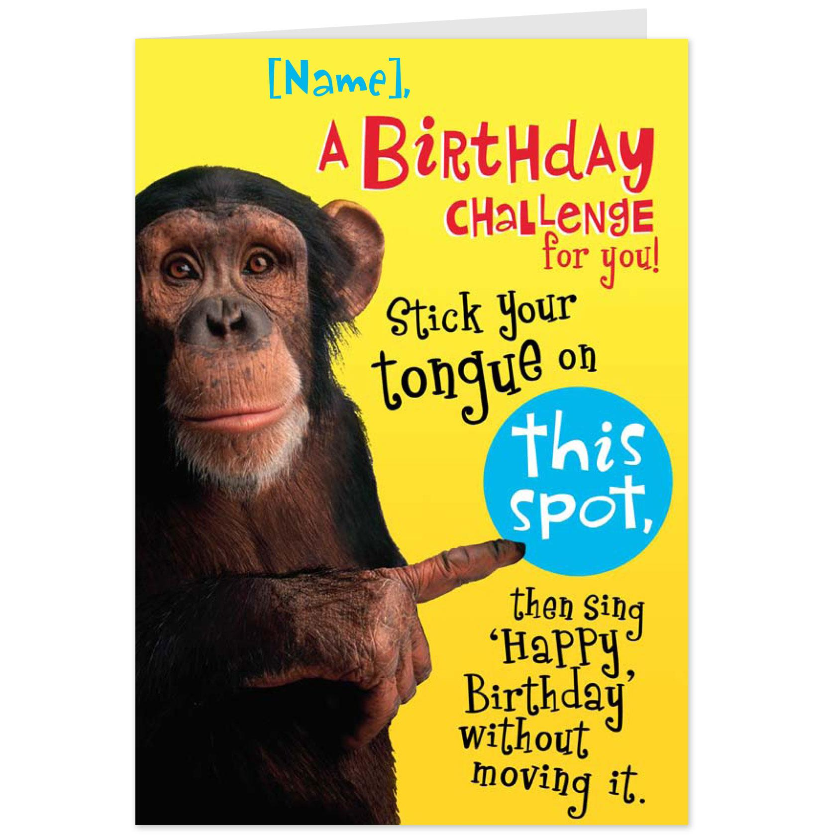 6 best images of funny printable birthday cards for