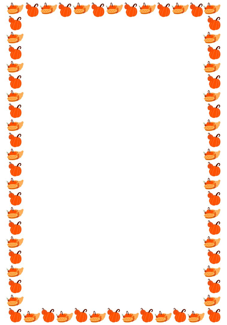 Happy Thanksgiving Clip Art Borders Free