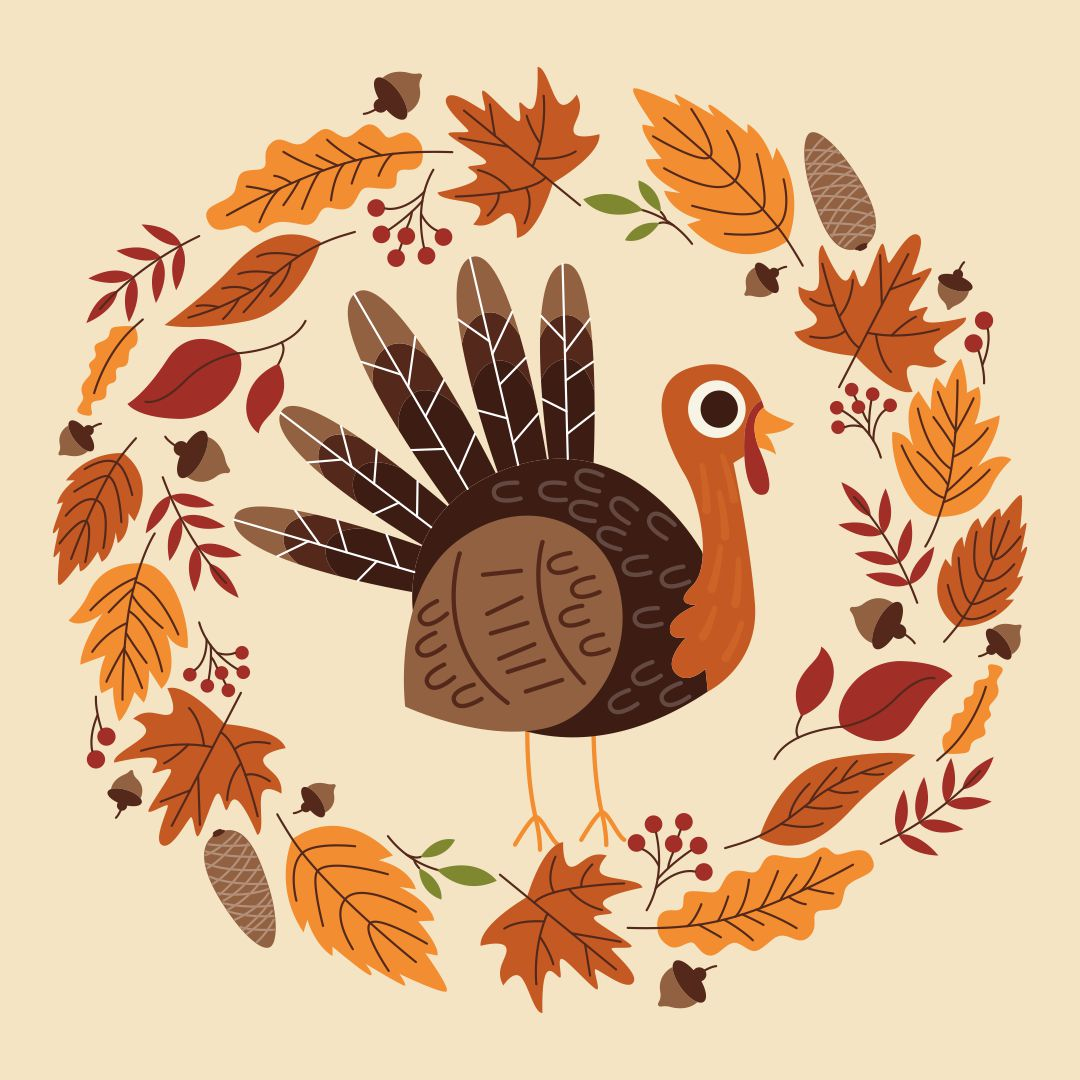 Happy Thanksgiving Turkey Clip Art