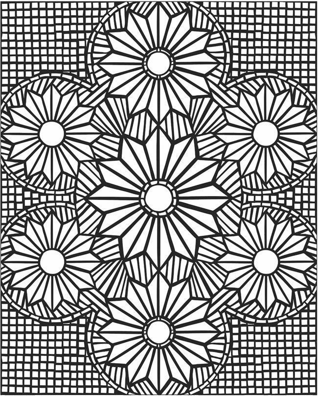 7 Images of 3D Printable Flower Patterns