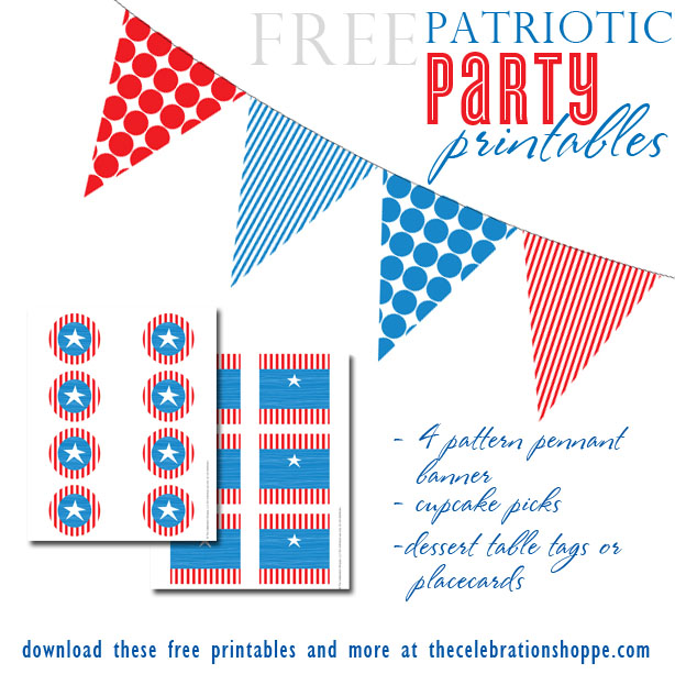 8 Images of Patriotic Placecards Printable