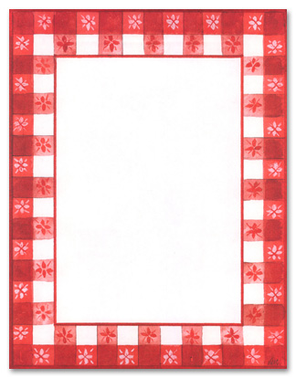Picnic BBQ Free Clip Art Borders