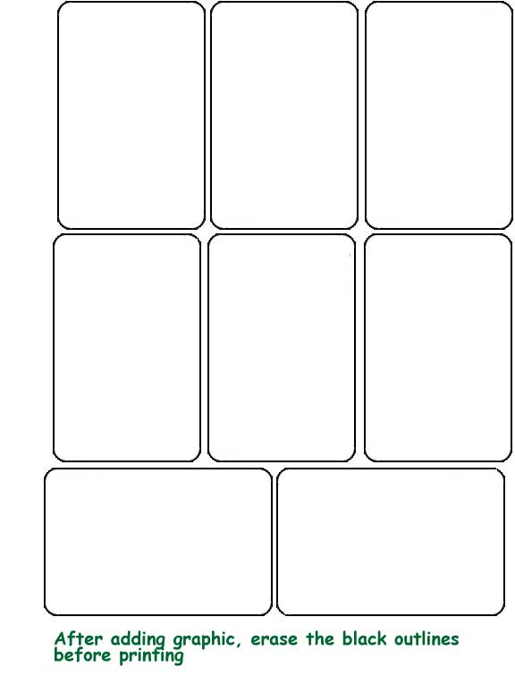 6 best images of printable blank playing cards template printable blank playing cards playing. Black Bedroom Furniture Sets. Home Design Ideas