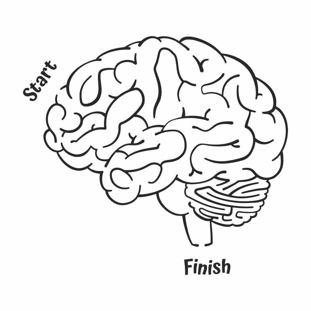 Printable Brain Maze