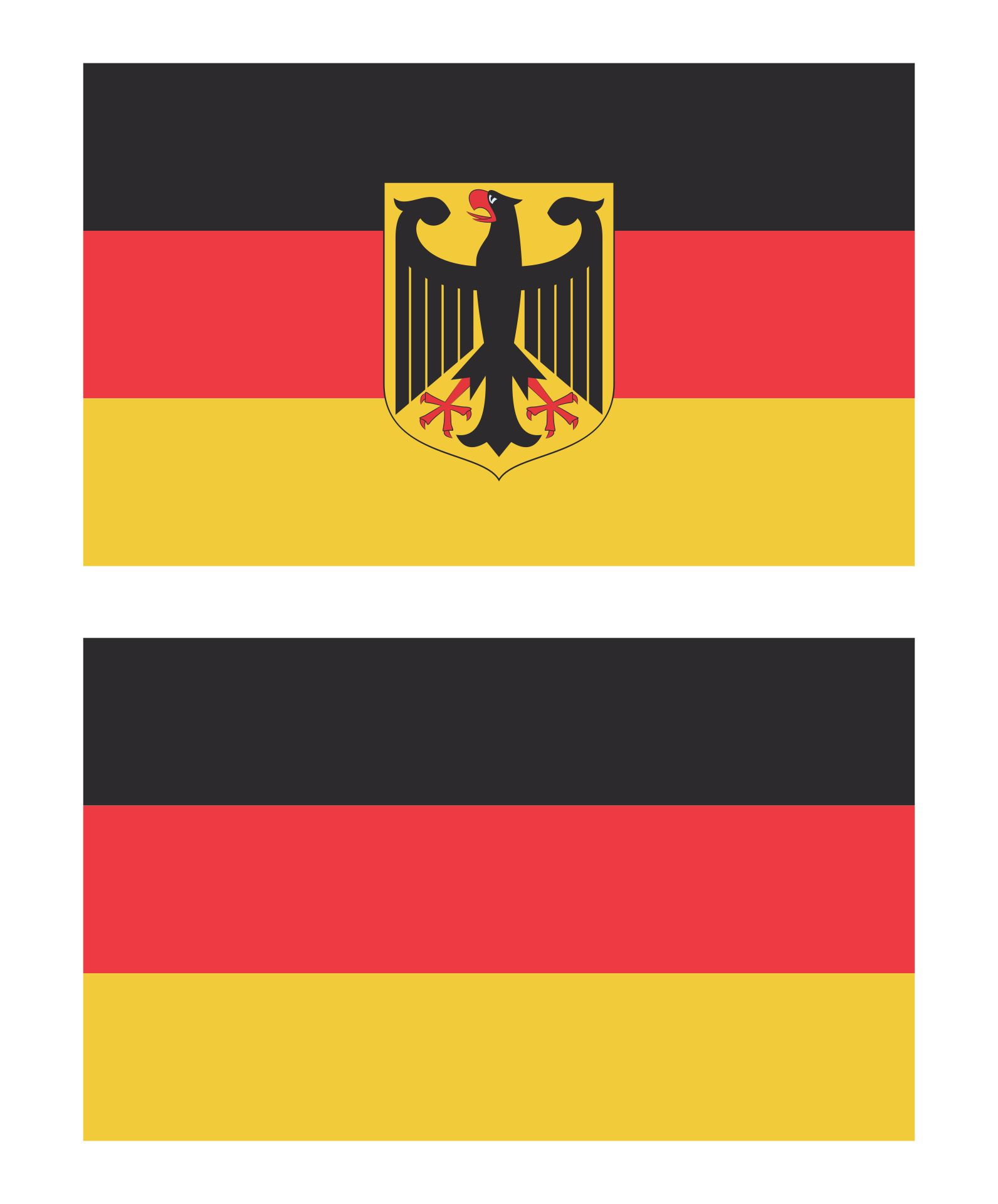 Printable Country Flags Germany