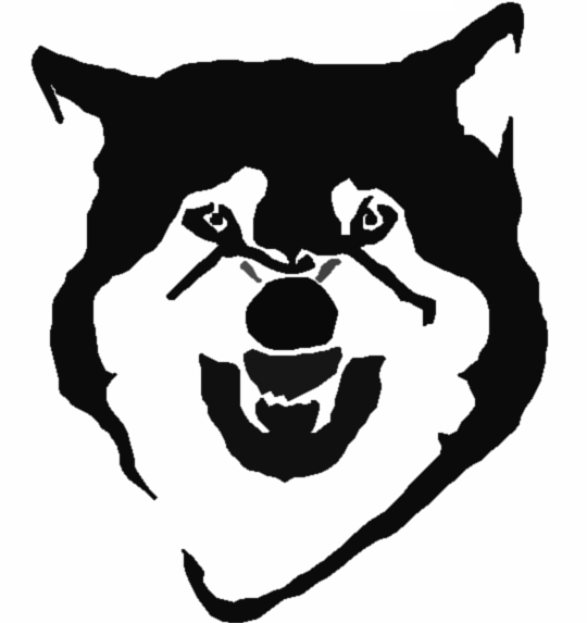 5 Images of Wolf Stencils Free Printable