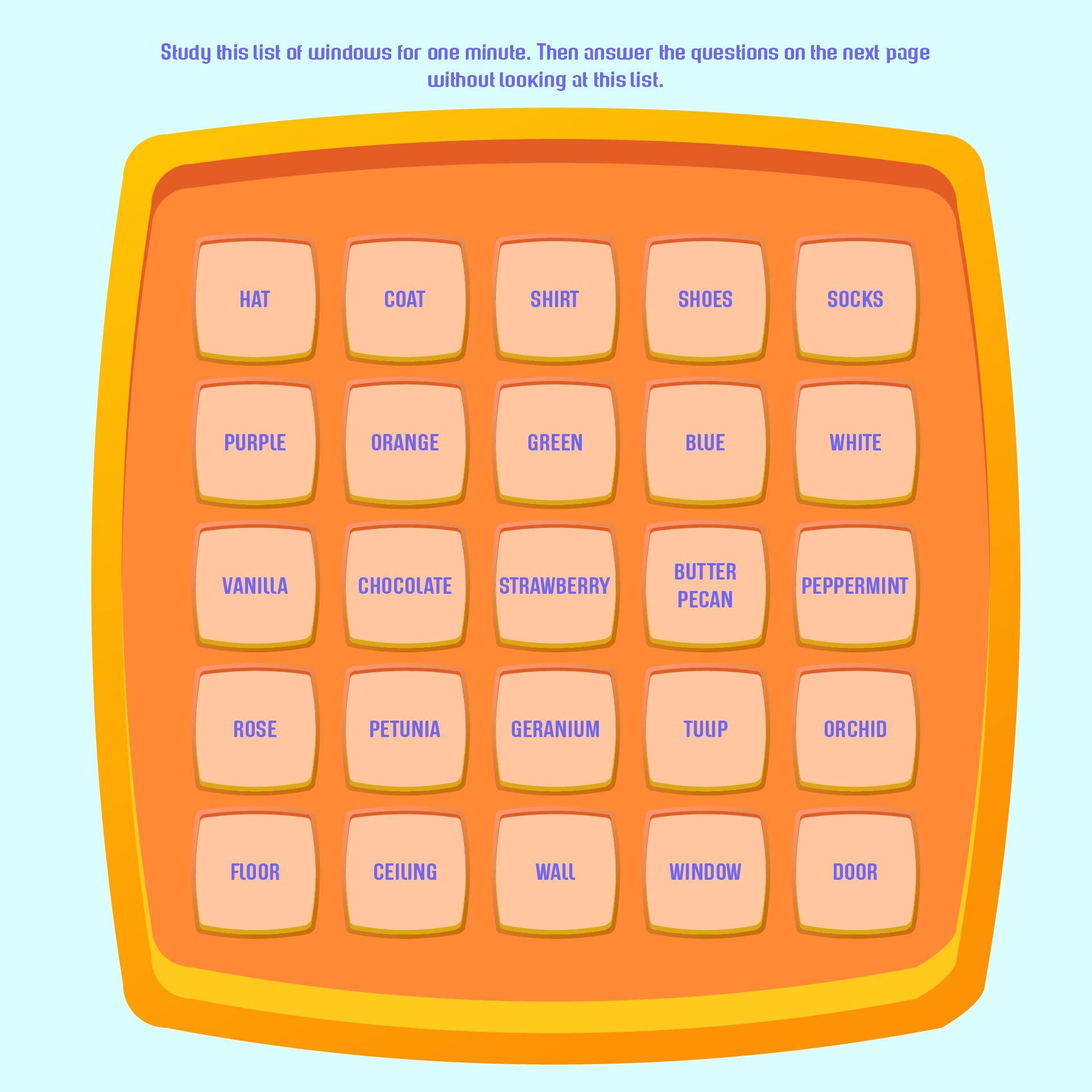 Printable Senior Brain Games for Adults