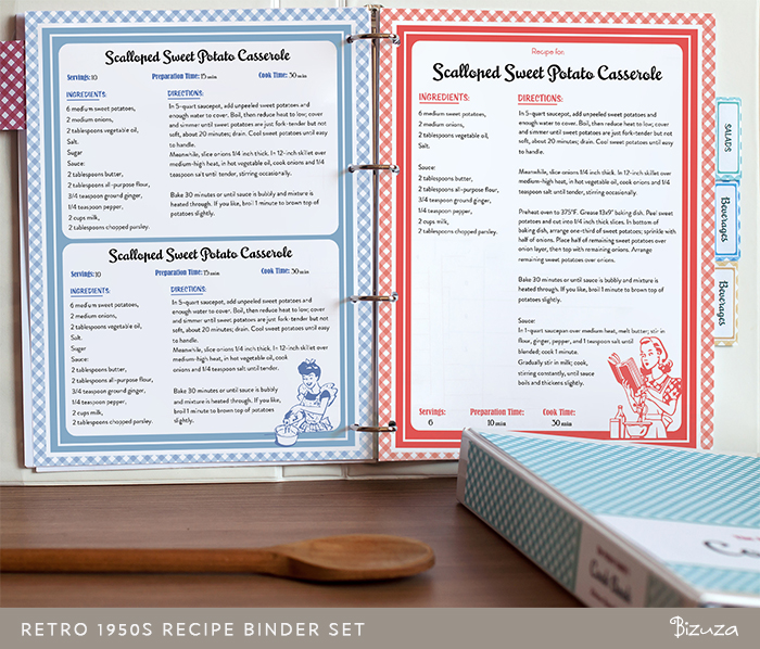 Recipe Binder Cover Template