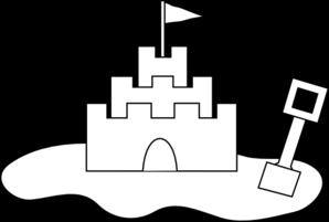 Sand Castle Clip Art at Clker.com - vector clip art online ...
