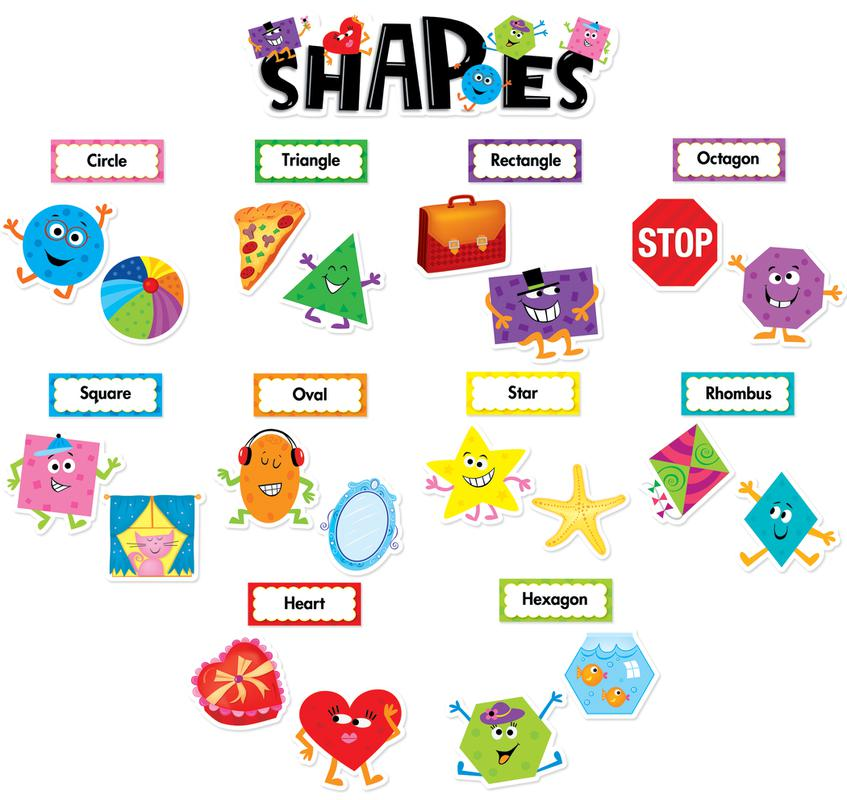 4 Images of Printable Bulletin Board Shapes