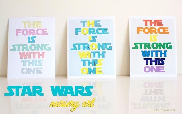 7 Images of Star Wars Nursery Printables