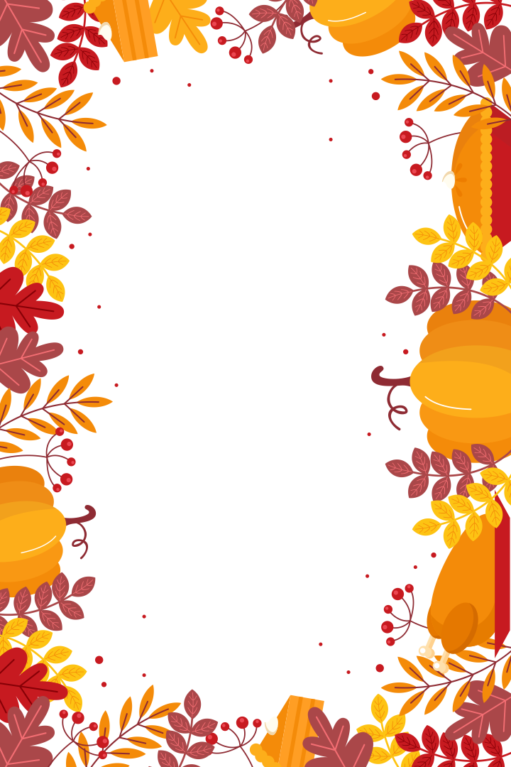 Thanksgiving Border Clip Art Download