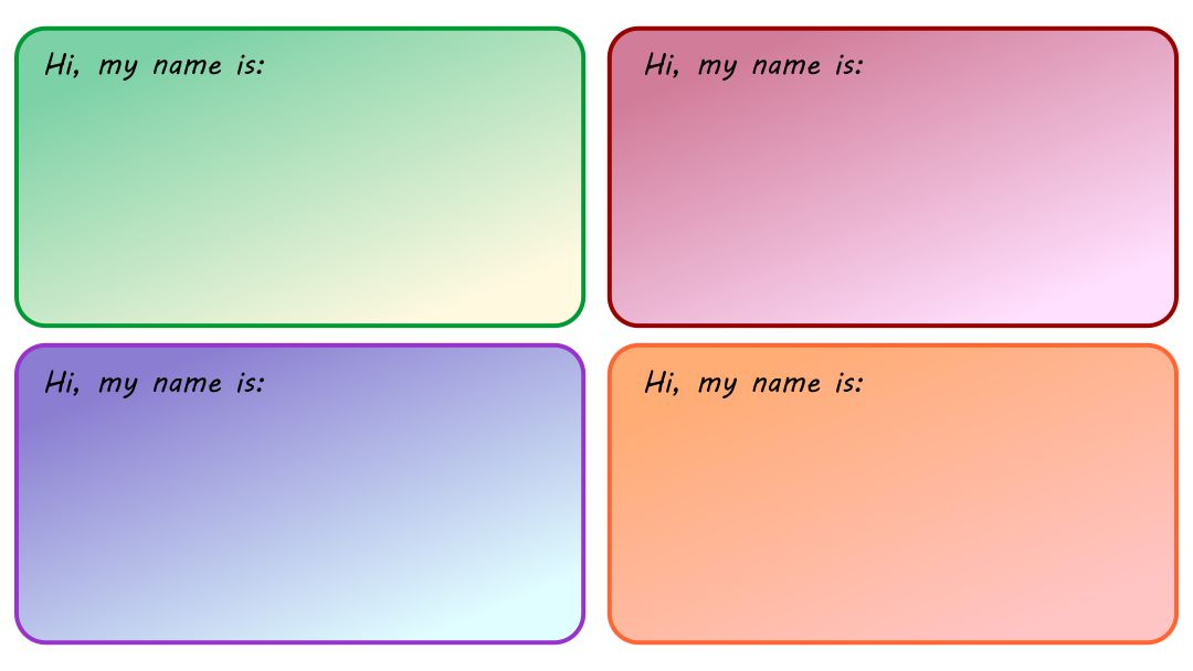 Avery Name Tag Templates Free Printables