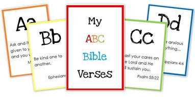 6 Images of Printable Alphabet Bible Verses