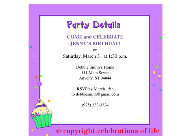 7 best images of free printable birthday program templates