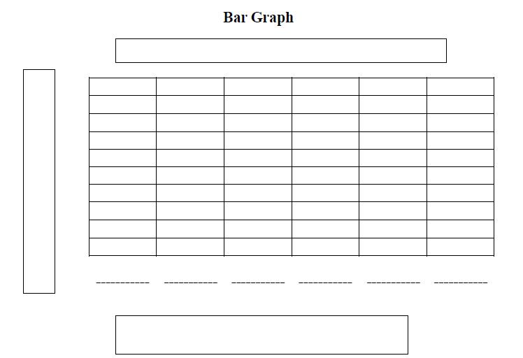 Blank Bar Graph Template for Kids