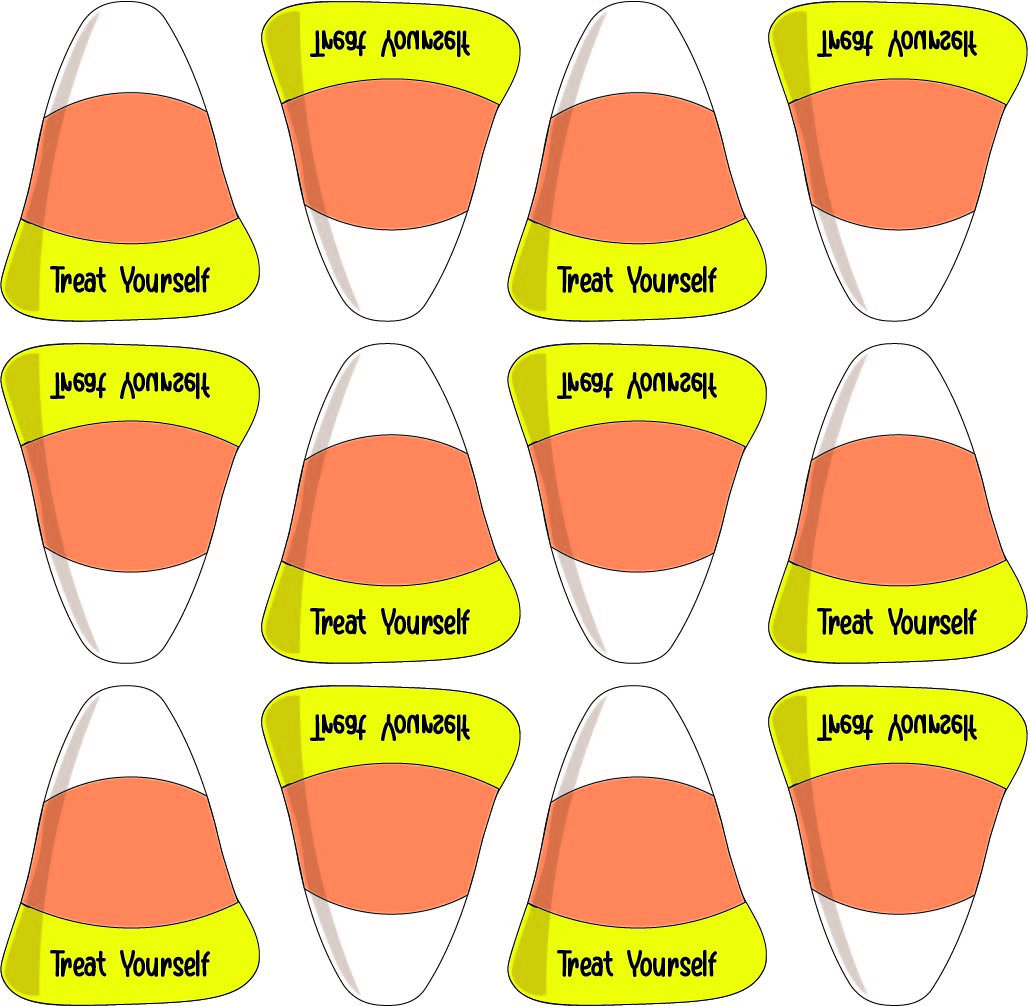 Candy Corn Template Printable Free