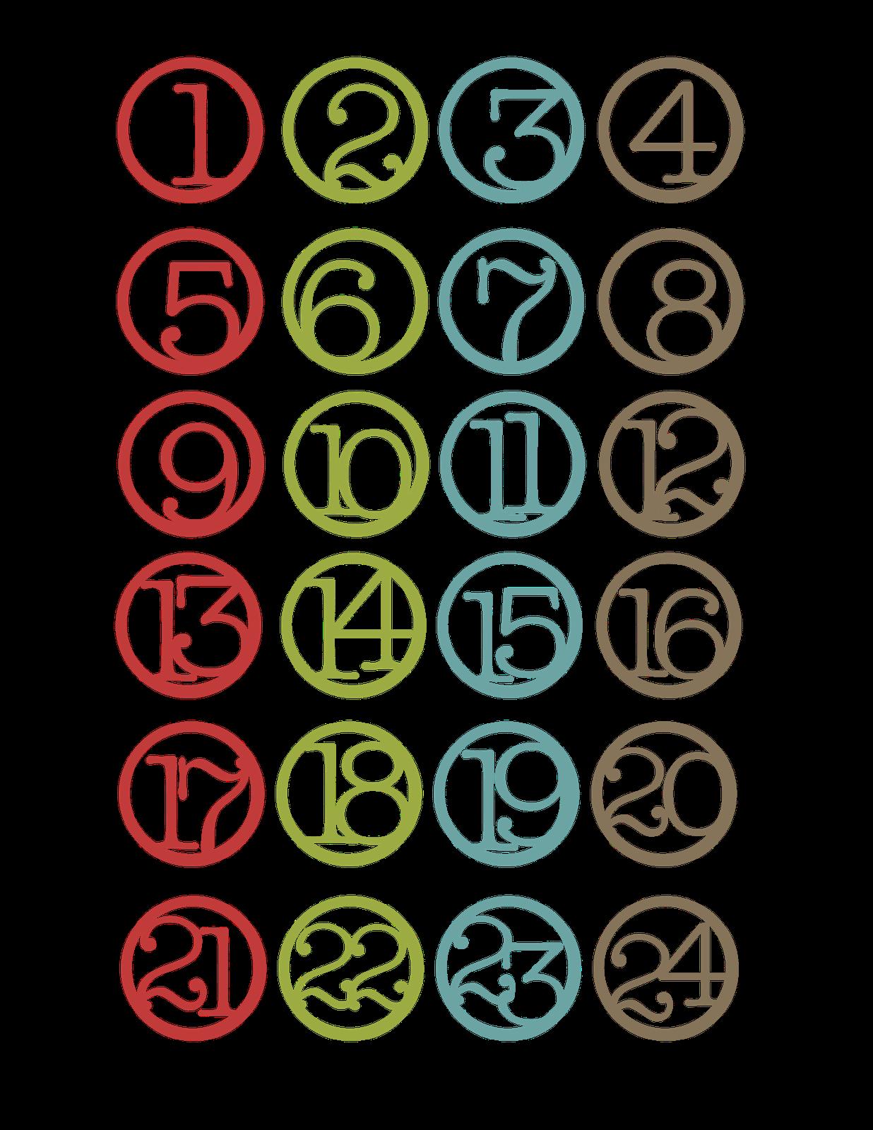 8 Best Images of Printable Number Countdown - Free ...