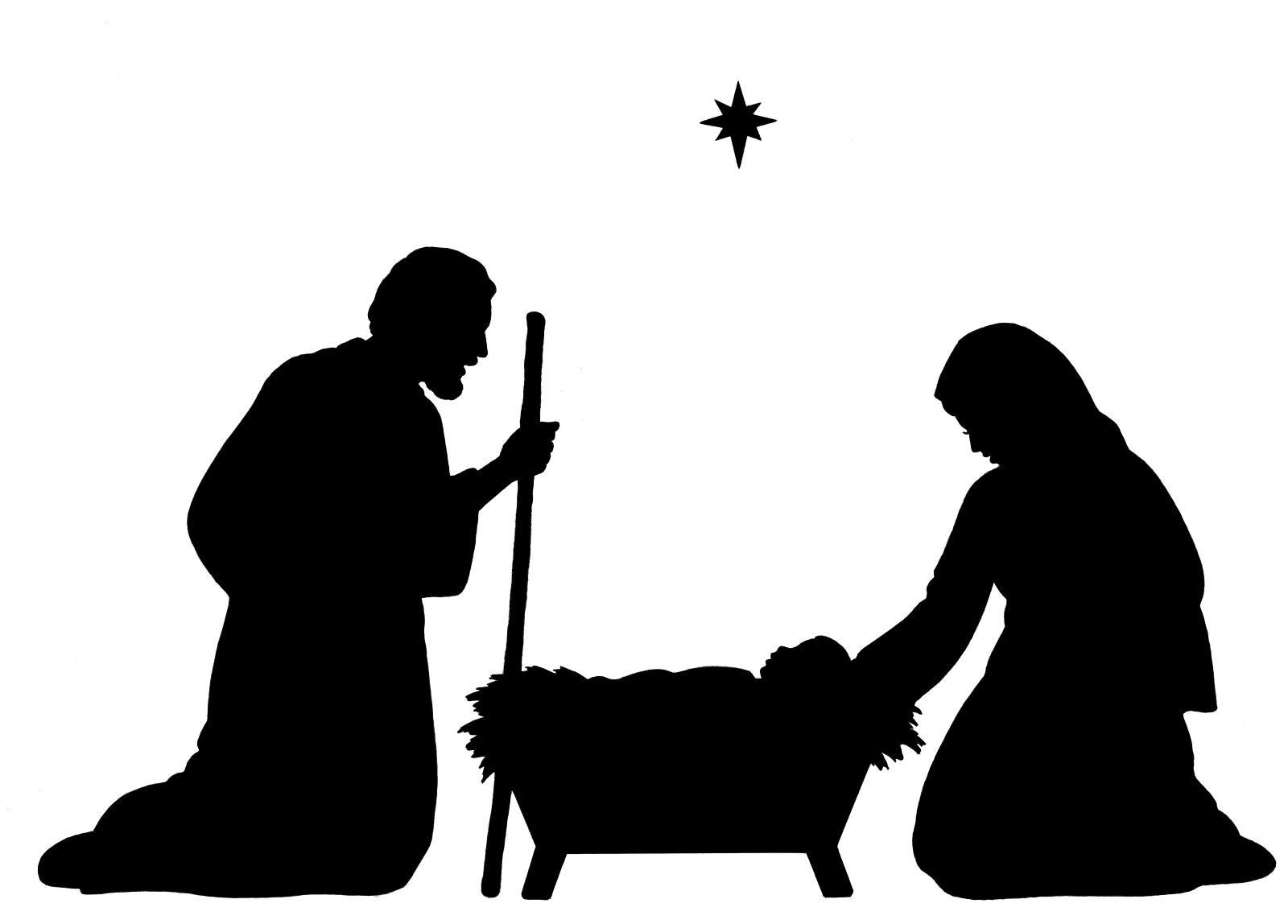 free clipart of baby jesus in a manger - photo #20