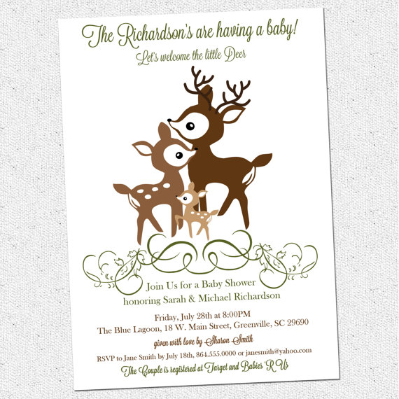 5 Images of Deer Family Printable