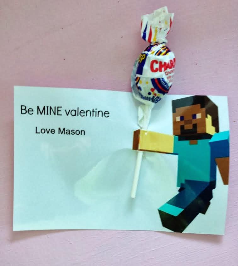 Easy Minecraft Valentine's