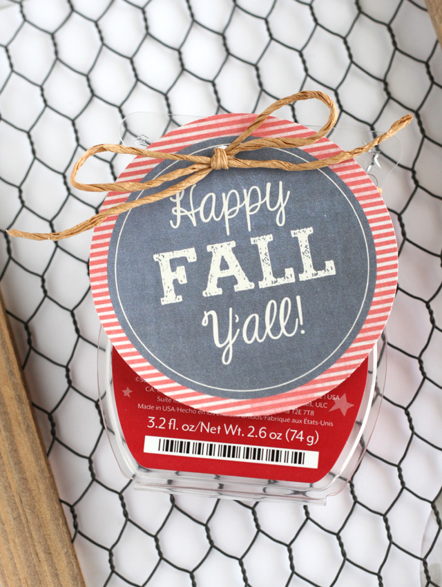 7 Images of Apple Printable Fall Gift Tag