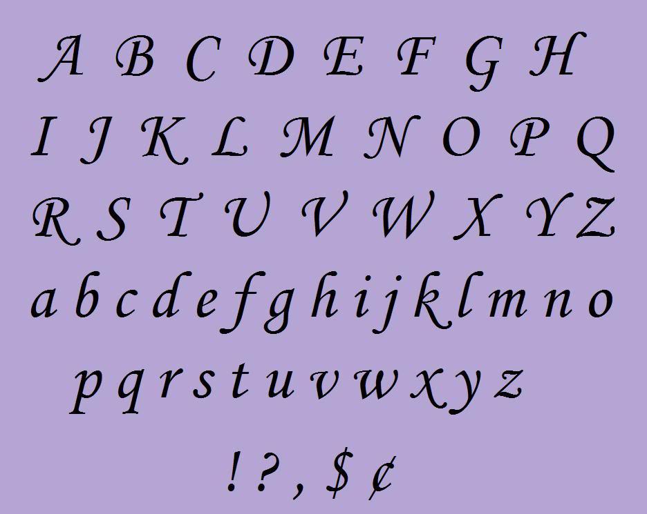 7 Best Images of Fancy Alphabet Letters Printable Stencils ...
