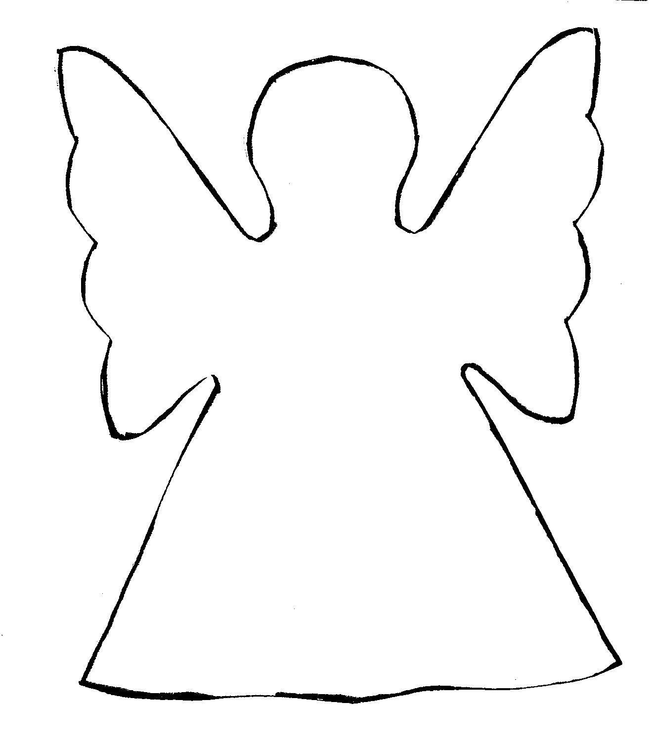 5 Images of Free Printable Angels Clip Art