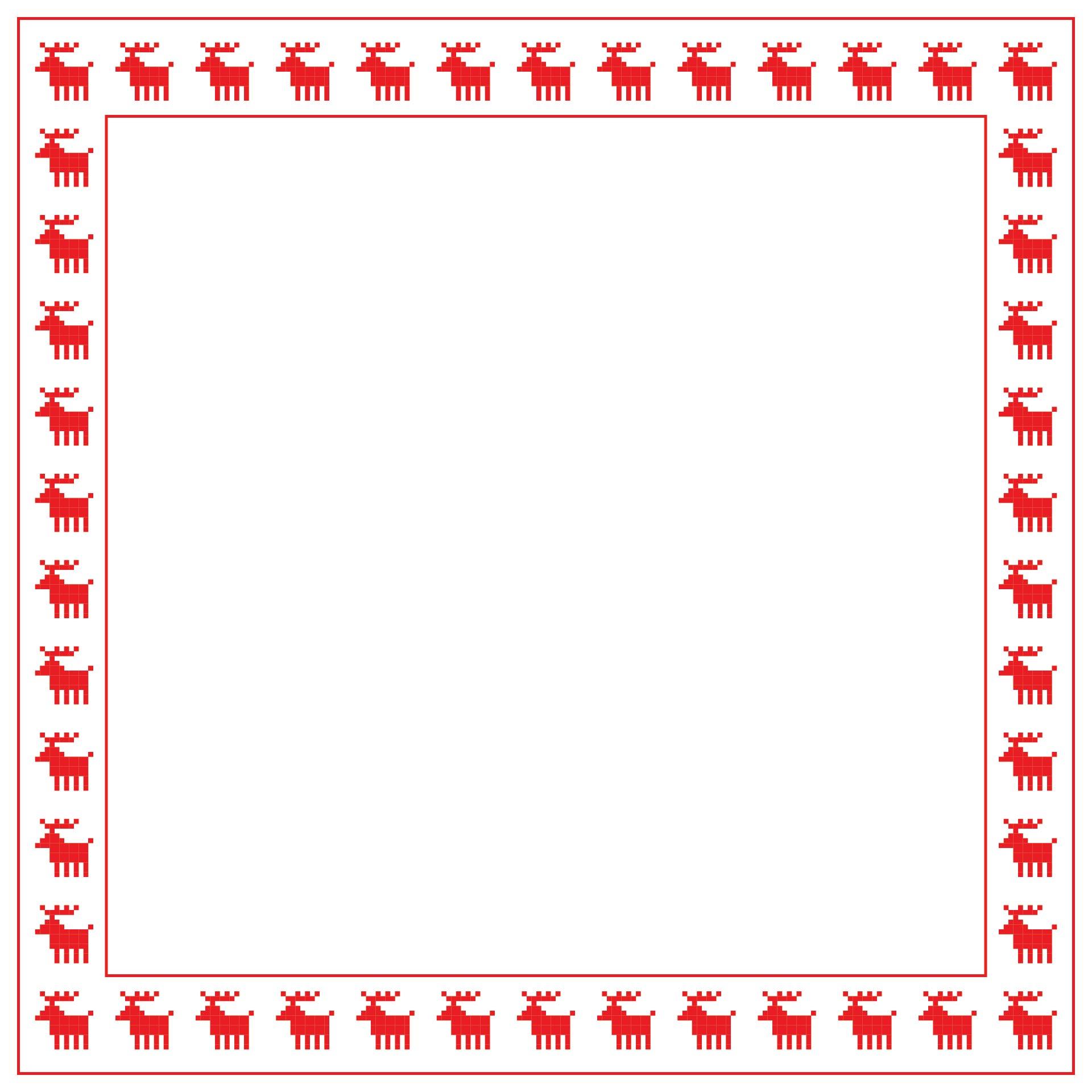 Christmas Holiday Stationery