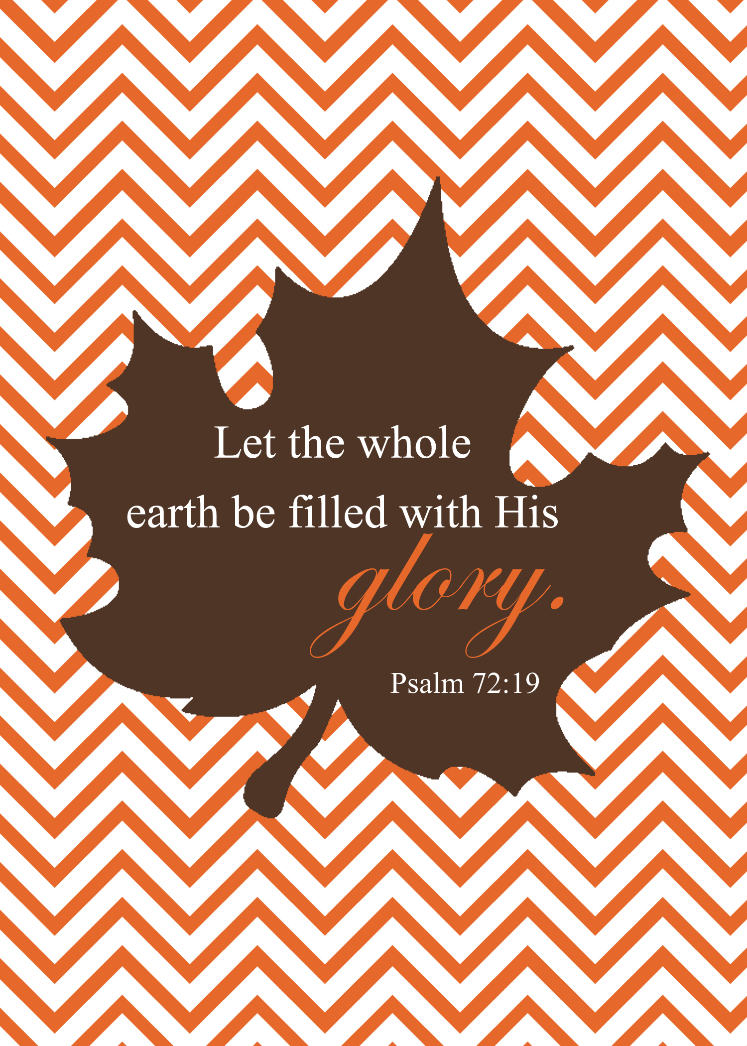 6 Images of Fall Scripture Printables Art