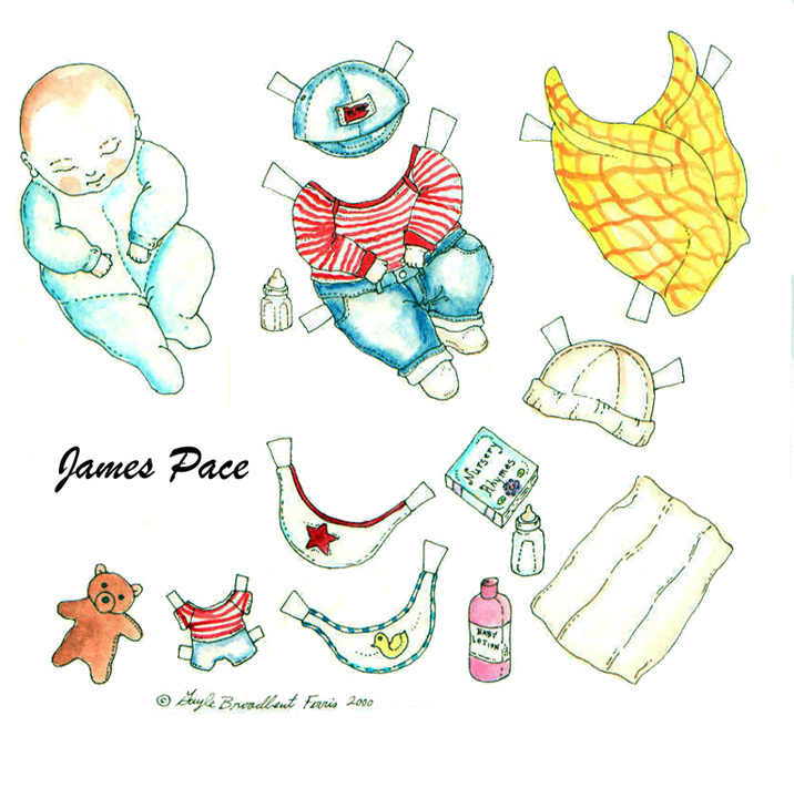 8 Images of Baby Doll Printables