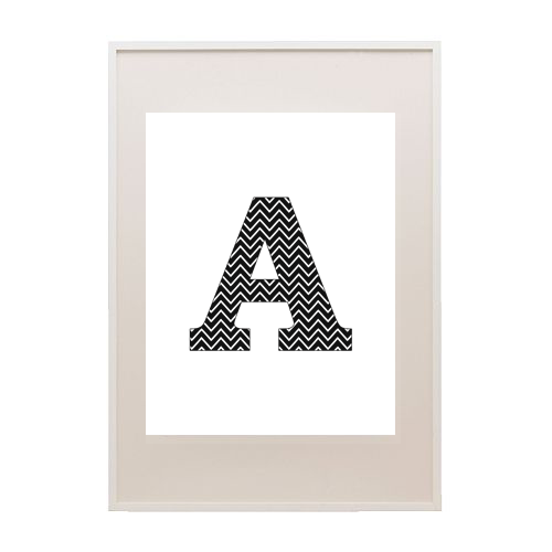 6 Images of Chevron Monogram Letter L Printables