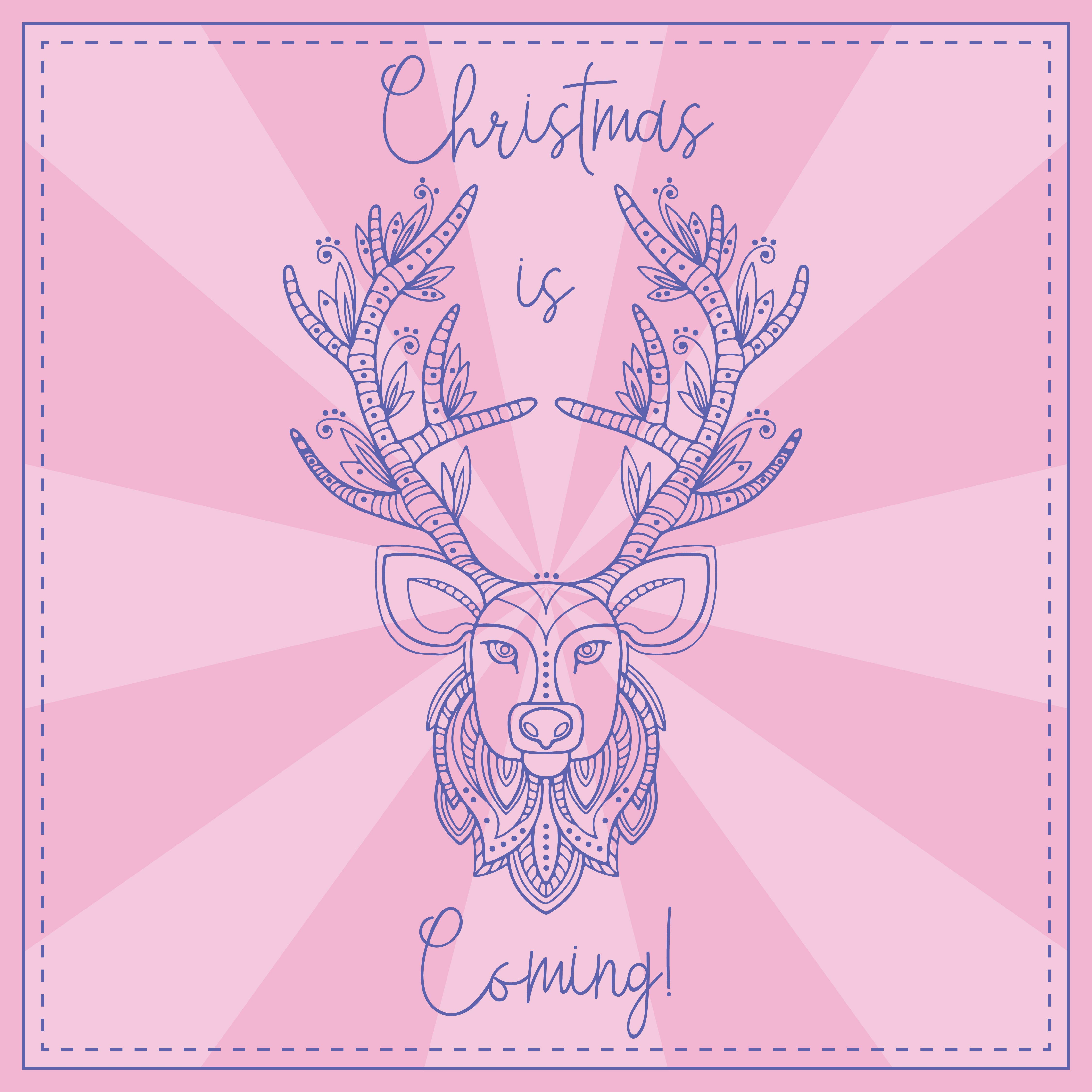 Printable Christmas Greetings Clip Art