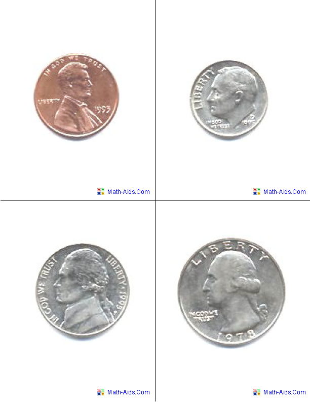 6 Images of Large Printable Coins Template