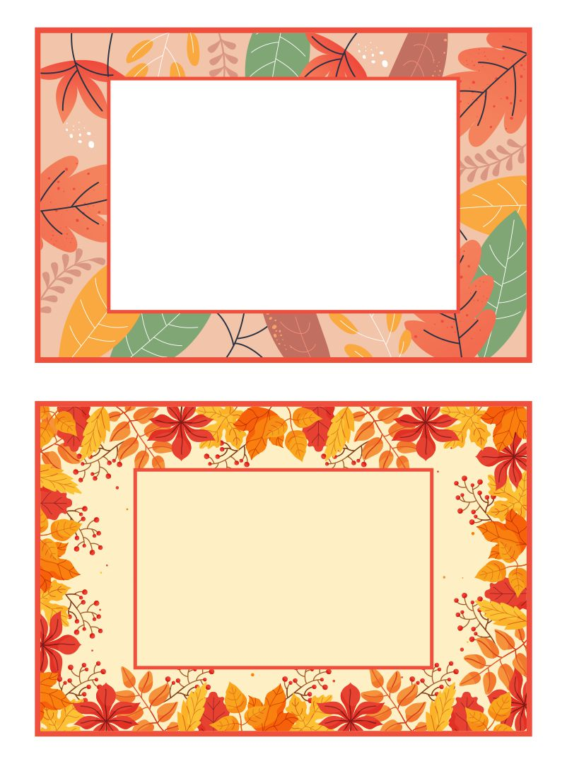 7 Images of Leaf Name Tag Printables
