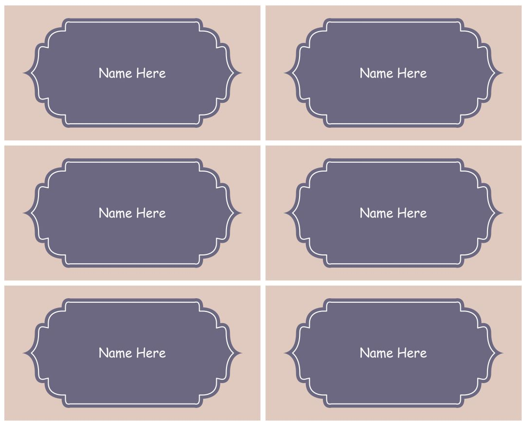 7 Images of Free Printable Kids Name Tags Templates