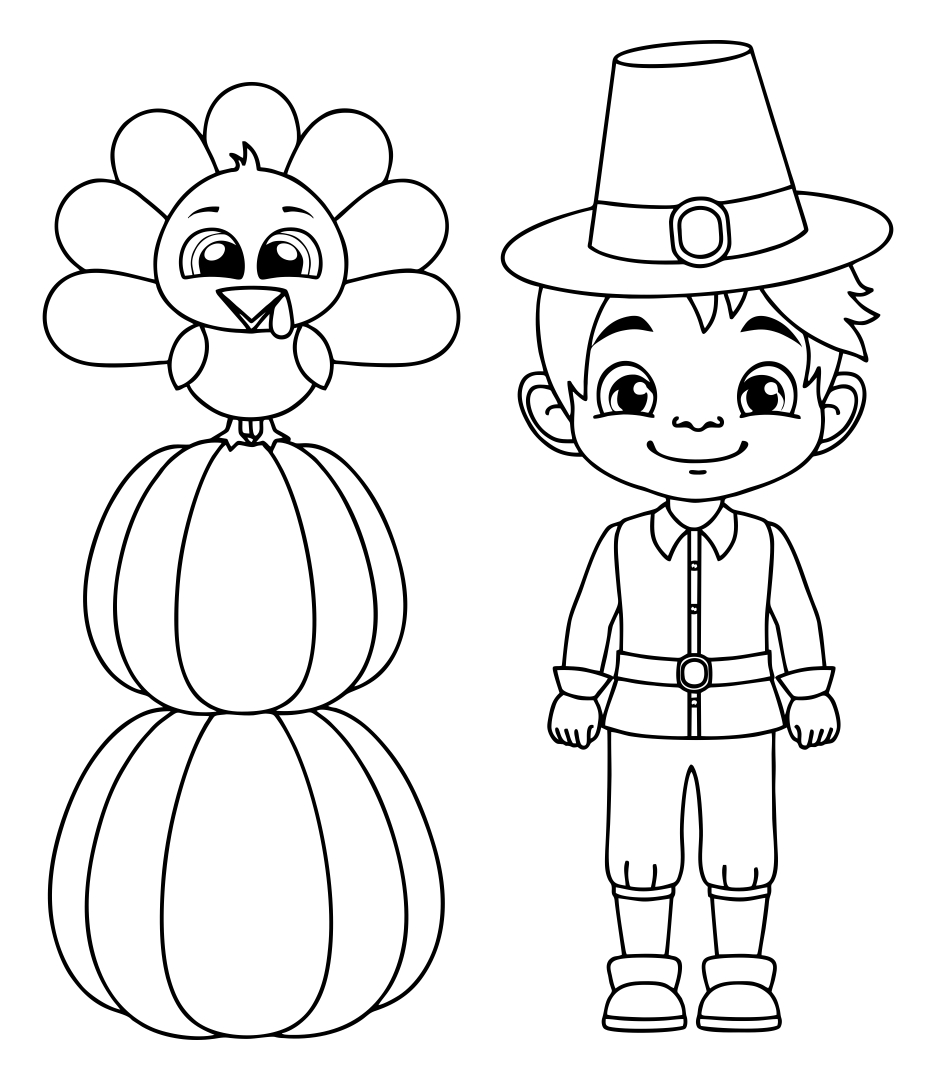 7 Images of Thanksgiving Printable Activity Pages