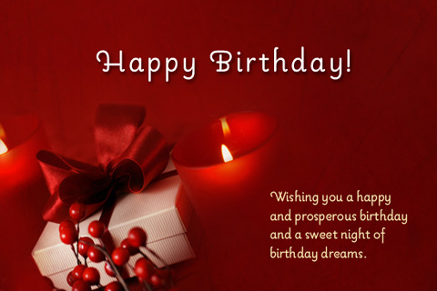 4 Images of Free Printable Happy Birthday Postcards