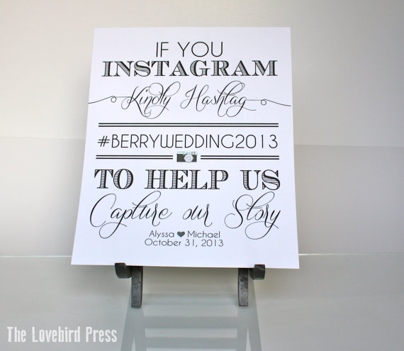 8 Images of Printable Instagram Wedding