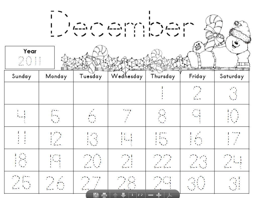 7 Images of 2015 Calendar November Printables Kindergarten