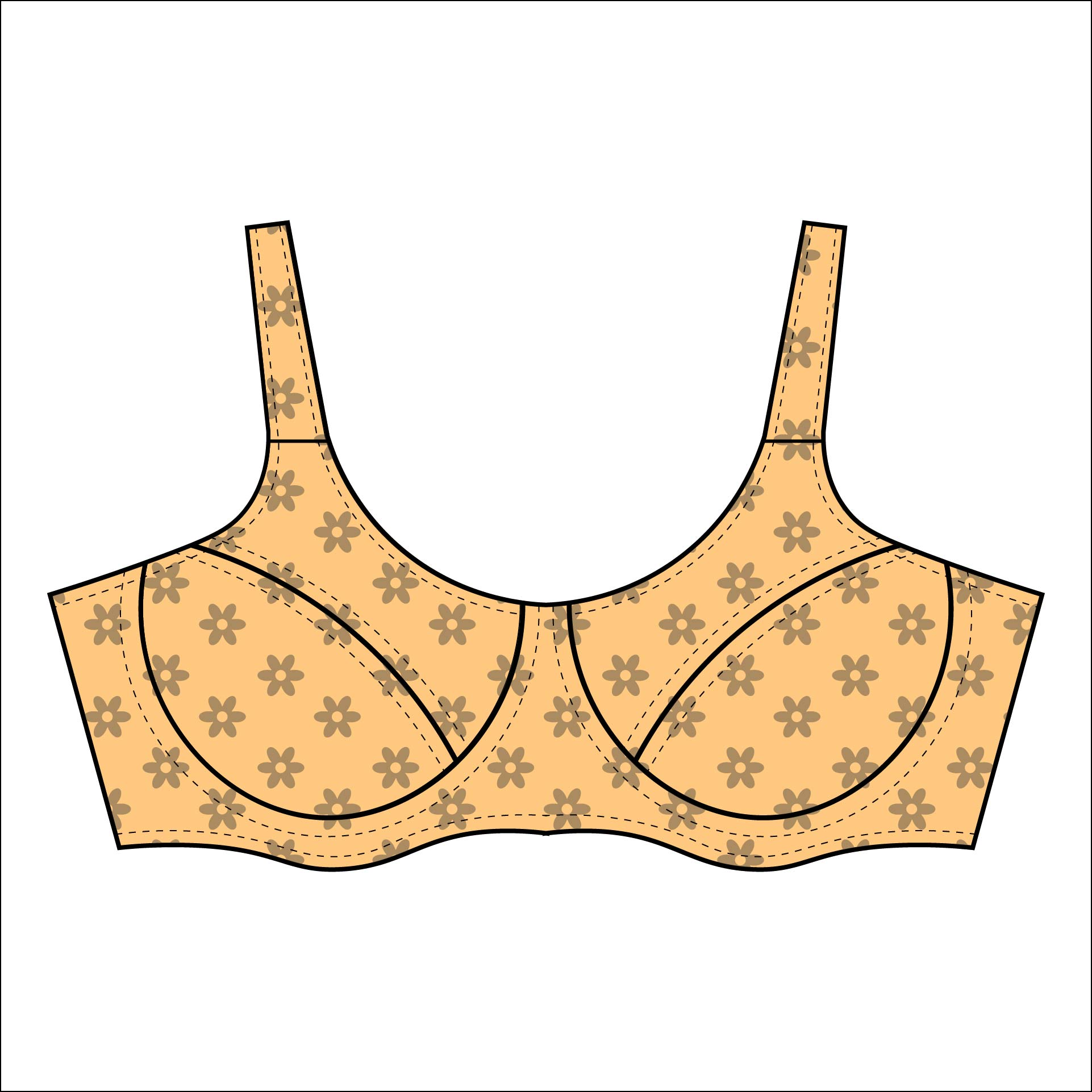 Make Your Own Bra Pattern