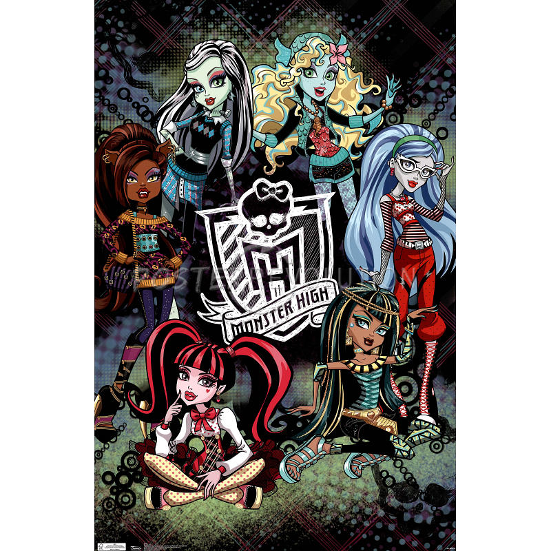 7 Images of Monster High Posters Printable