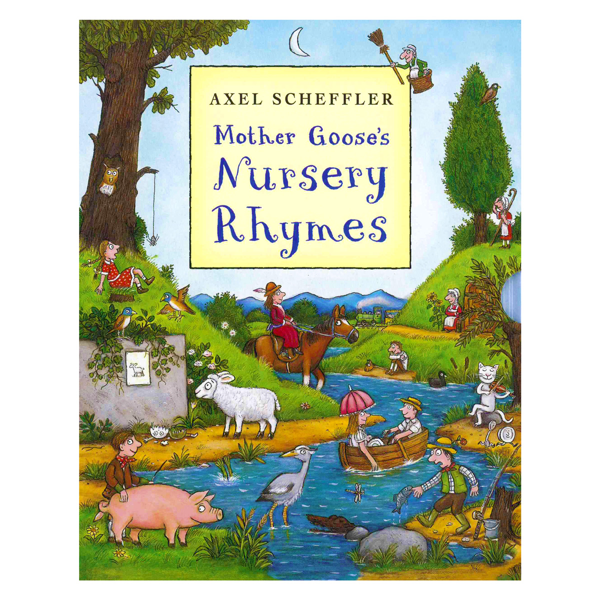 4 Images of Printable Mother Goose Nursery Rhymes Book