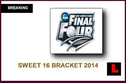 9 Images of Printable Sweet 16 Basketball Bracket 2014