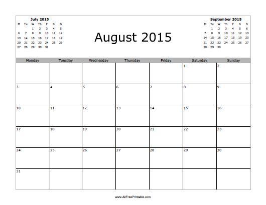 November 2015 Calendar Printable Free