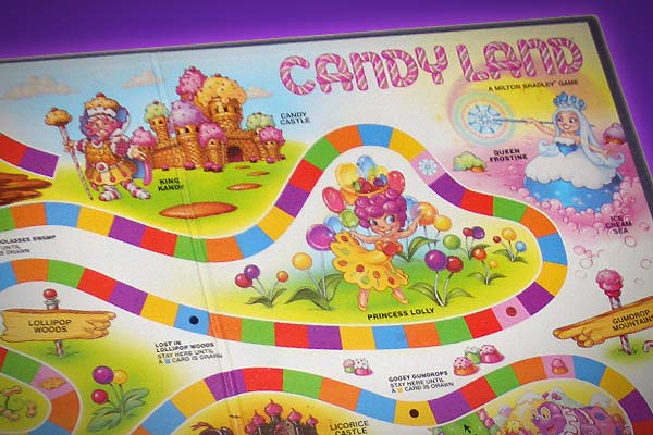 Printable Candyland Board Game