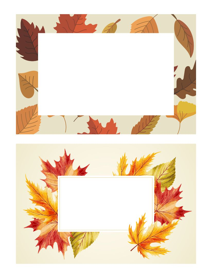 7 best images of leaf name tag printables free printable for Free name tag templates for kids