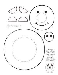 7 Images of Kindergarten Paper Crafts Printable Animal