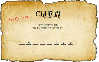 how to write cryptic clues for treasure hunt